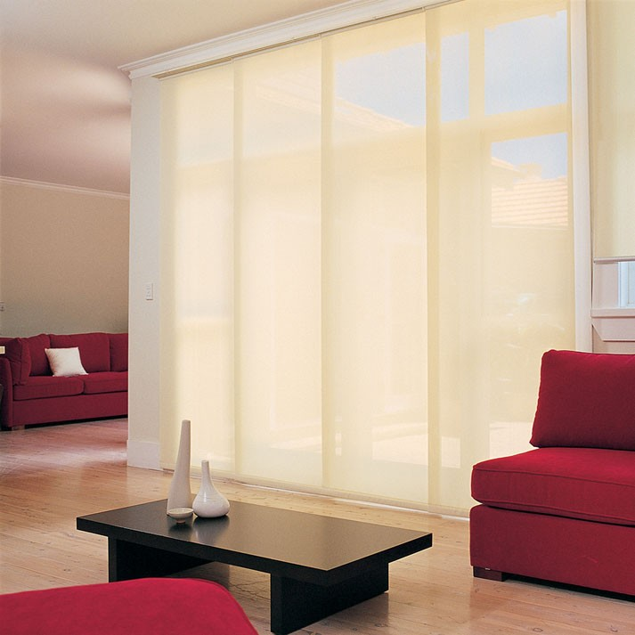 Paneles japoneses for Cortinas amarillas
