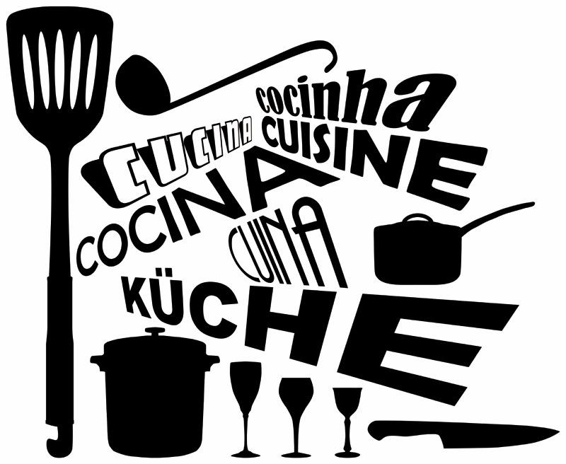 Estores con frase cocina - Imagenes de cocinas para imprimir ...