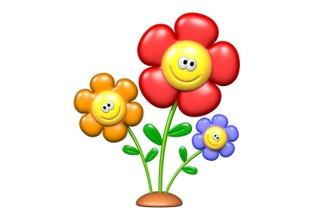 Flores, árboles Y Plantas 3d