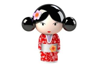 Muñecas Japonesas 3d